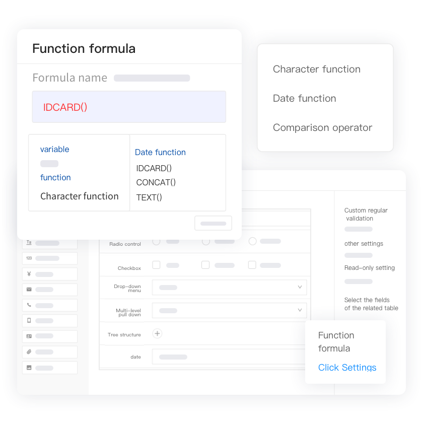 Weaver low-code ebuilder form engine data write back
